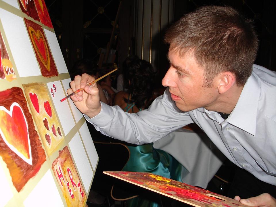Le métier d'artiste peintre
